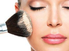 делаем лицо худее с помощью макияжа