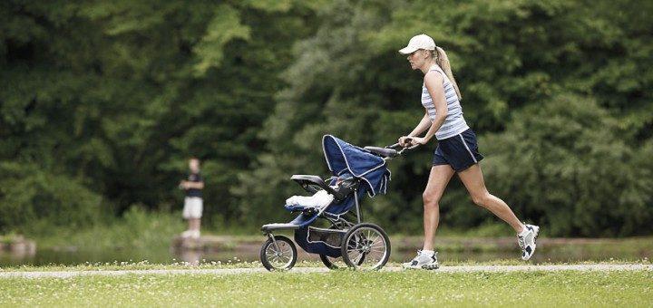 спортивные прогулки с коляской