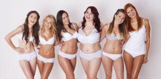 шесть разных девушек