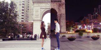 парень и девушка в разных городах