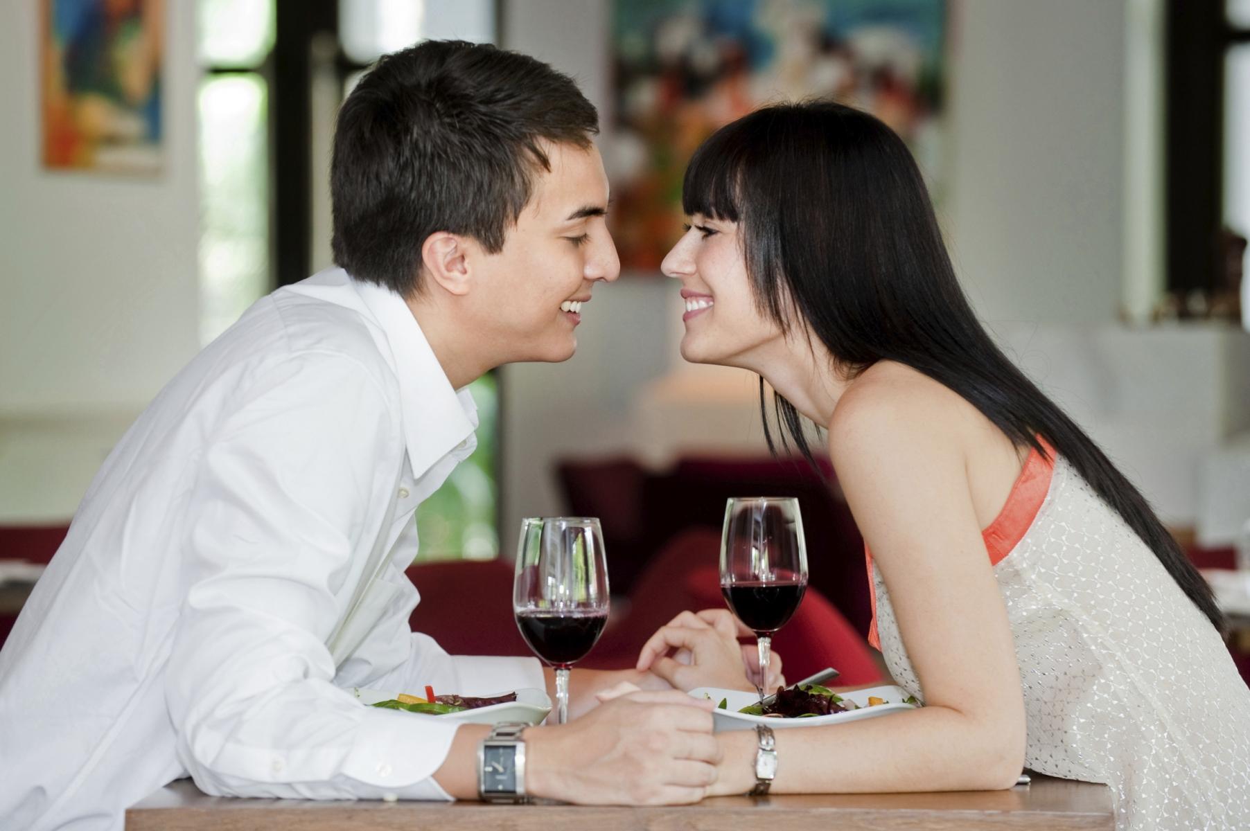 Знакомства целоваться когда можно после