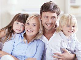 мама, папа, сын и дочь