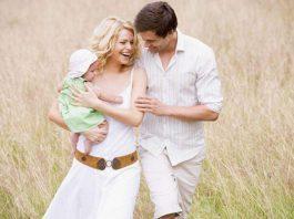 мужчина женщина и ребенок