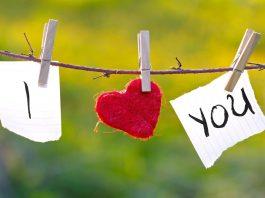 надпись я тебя люблю