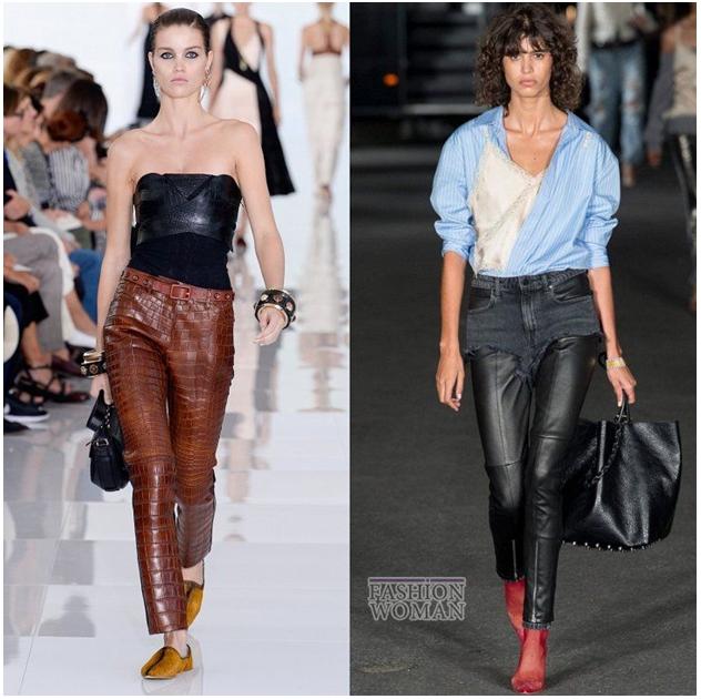 кожаные брюки 2